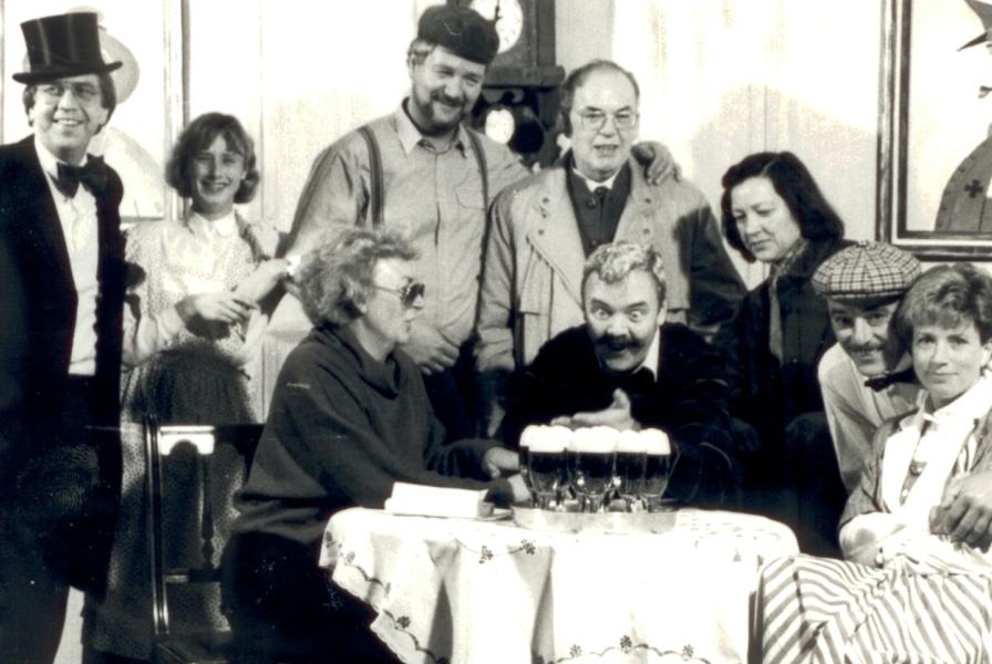 """Gruppenfoto """"Die Pferdekur"""" (1985)"""