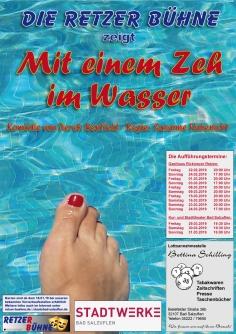 """Spielzeit 2019 - """"Mit einem Zeh im Wasser"""""""