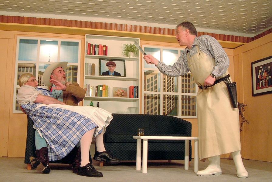 Bühnenstück 2005 – Der Bräutigam meiner Frau